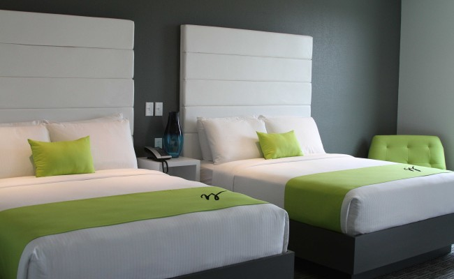 Wallhouse Hotel beds