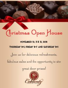 Coblentz Chocolate Christmas Open House