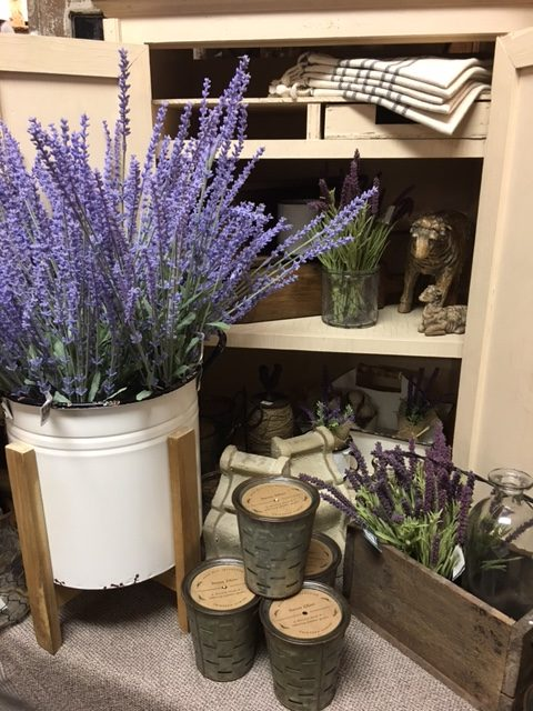 The Peddler Lavender Decor