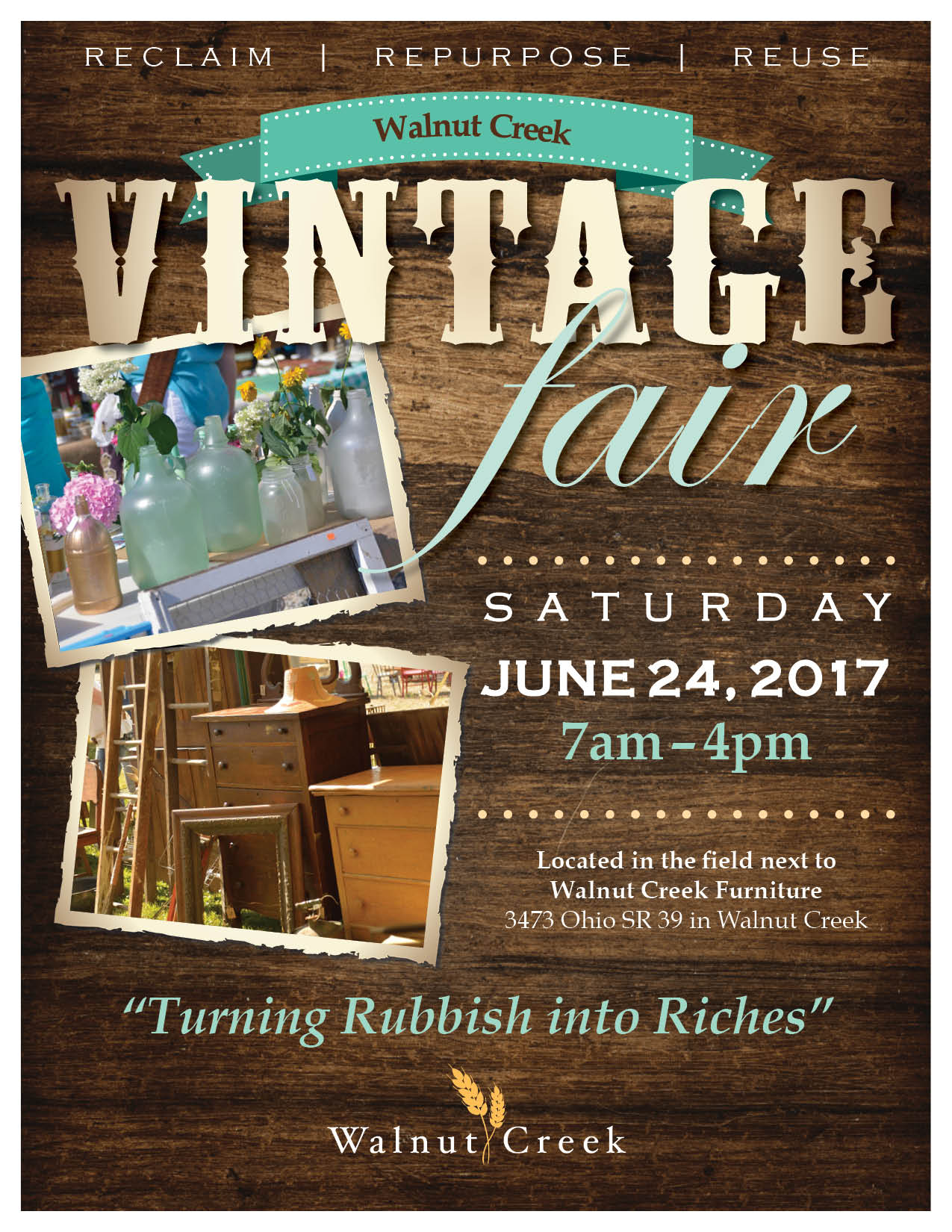 Walnut Creek Vintage Fair 2017