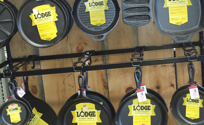 Lodge Logic Cast Iron Skillets