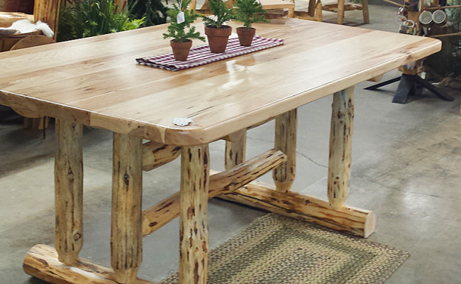 Log Home Furnishings – Dining Table