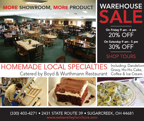 Marvelous Swiss Valley Furniture Open House 2016