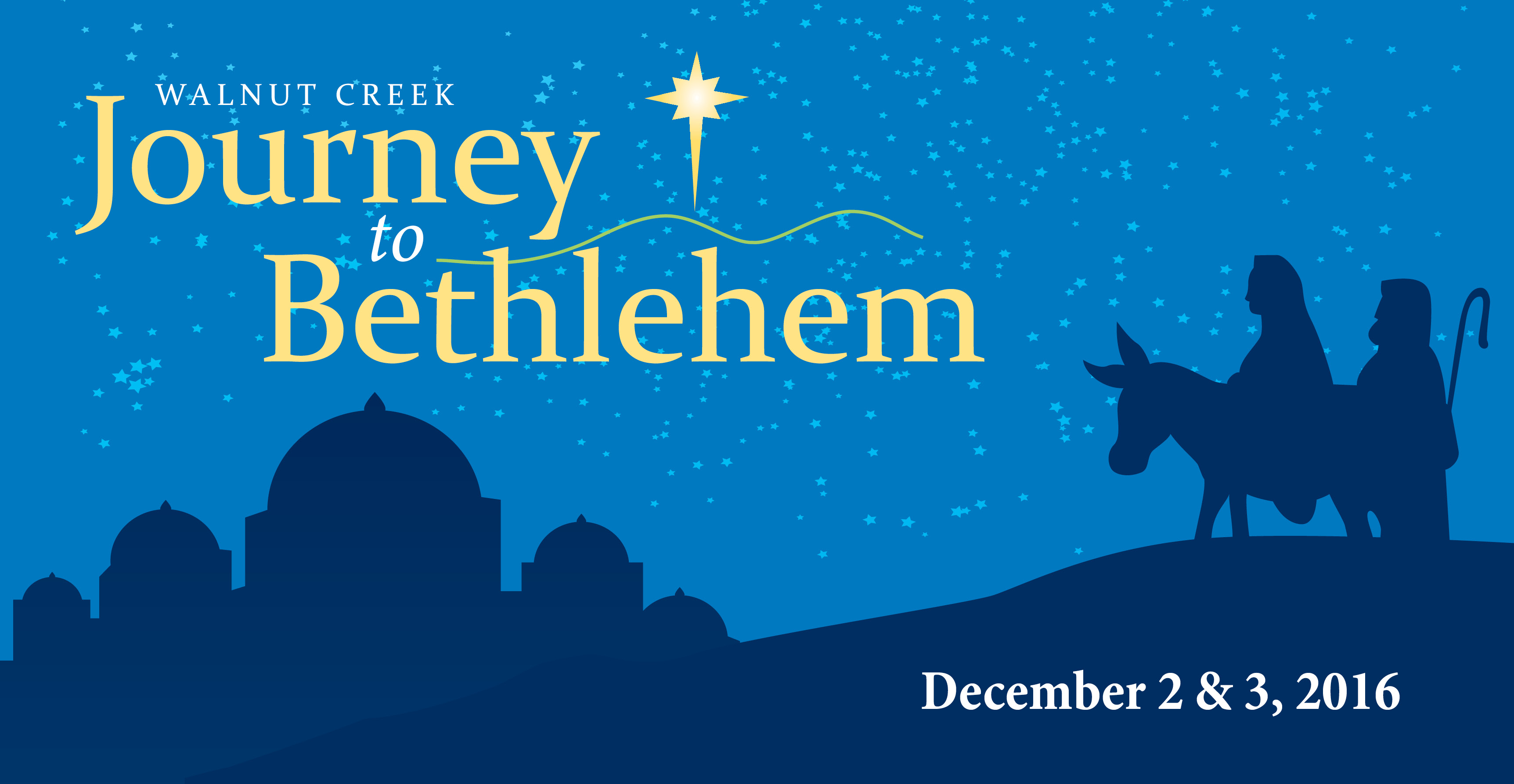 Journey to Bethlehem in Walnut Creek, Ohio - December 2 & 3, 2016