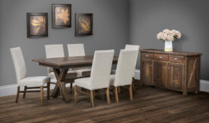 Furniture Guidelines: Amish-made Hardwood Dining Room Set