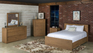 Furniture Guidelines: Urban Loft Bedroom Set