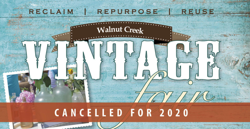 Walnut Creek Vintage Fair Cancelled for 2020