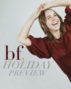 bFearless. Holiday Preview