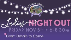 Walnut Creek Cheese Ladies Night Out
